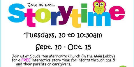 Children's Story Time tickets