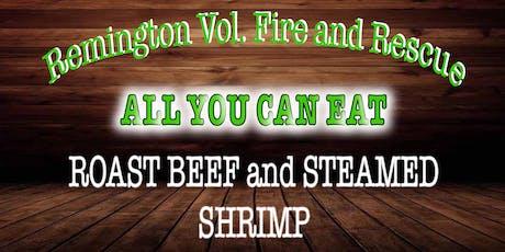 RVFRD Roast Beef and Shrimp Dinner tickets