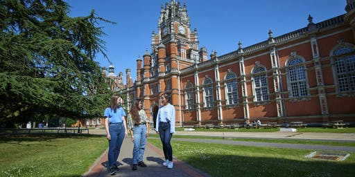 Royal Holloway self-led campus tours 2019-20