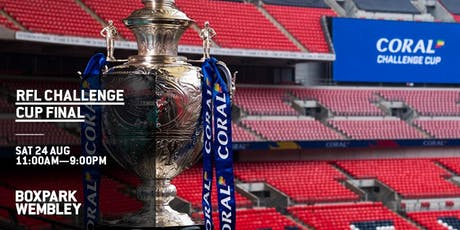 The Challenge Cup Final Fanpark tickets