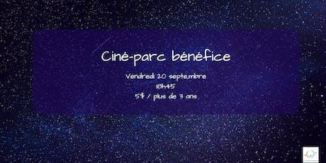 Ciné-parc bénéfice tickets