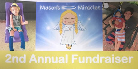 Mason's Miracles 2nd Annual Fundraiser tickets