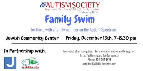 ASMV (Autism) Family Swim: JCC tickets