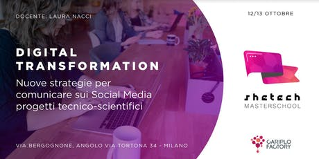 Shetech Masterschool: Digital Transformation biglietti