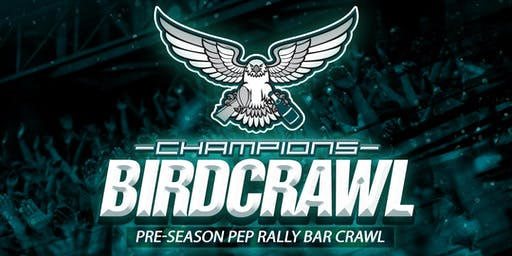 West Chester Bird Crawl Pre-Season Pep Rally Bar Crawl