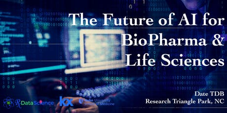 Coming Soon: Future of AI for BioPharma & Life Sciences tickets