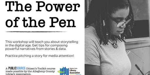 The Power of the Pen: Getting public attention on your issues