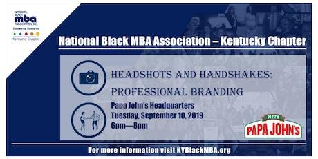 Headshots & Handshakes:Professional Branding  tickets