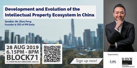 DEVELOPMENT AND EVOLUTION OF THE INTELLECTUAL PROPERTY ECOSYSTEM IN CHINA tickets