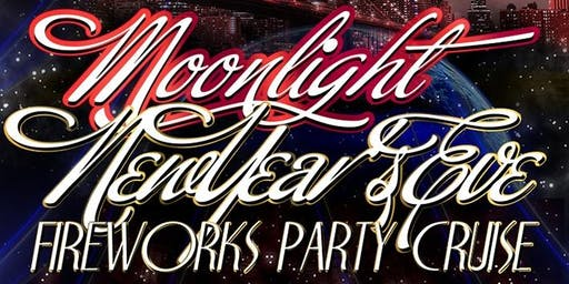 New Year's Eve 2020 Moonlight Fireworks Party Cruise Aboard the Great Point