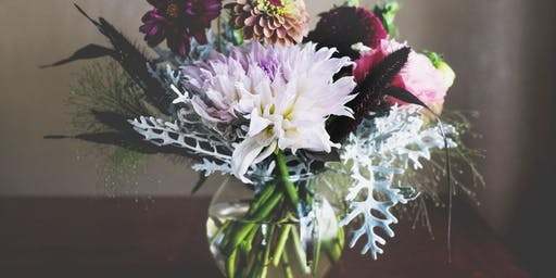 Flower Arranging Workshop with Delight Flower Farm