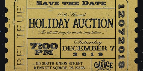 Garage Youth Center 2019 Holiday Auction tickets