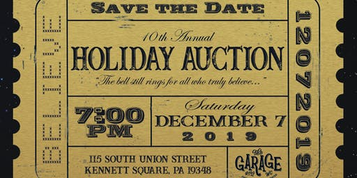 Garage Youth Center 2019 Holiday Auction
