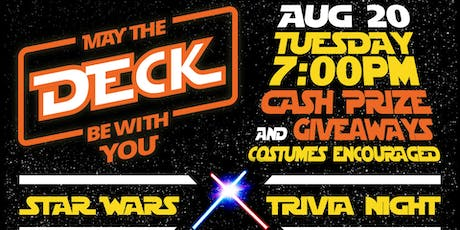 Star Wars Trivia @ The Deck - $1 RSVP tickets