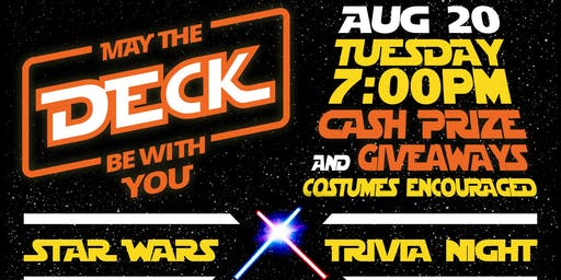 Star Wars Trivia @ The Deck - $1 RSVP