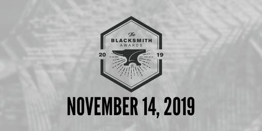2019 Blacksmith Awards