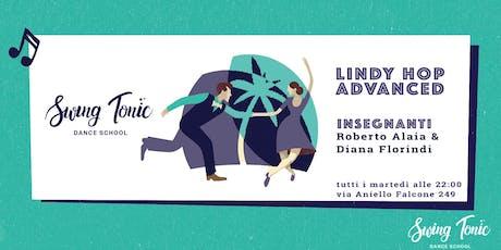 Corso di Lindy Advanced - Registrazione alla lezione gratuita del 24/09 biglietti