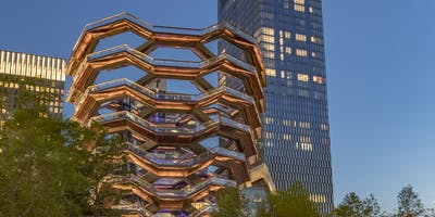 Real Estate Network of the CAA: Behind the scenes tour of Hudson Yards