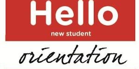 New Graduate Student Orientation tickets