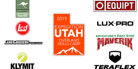 Overland Skills Camp 2019 by ExpeditionUtah tickets