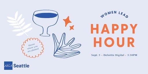 Women Lead Happy Hour