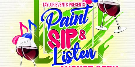 Paint Sip & Listen Couples Edition tickets