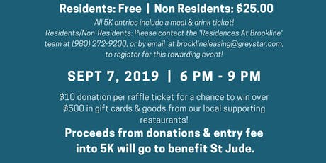 5K to Benefit St. Jude hosted by Residences at Brookline tickets