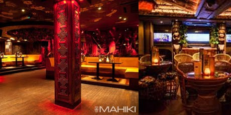 Socialising and Partying at Mahiki with welcome drink tickets