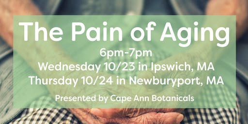 The Pain of Aging: Newburyport, MA