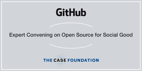 Expert Convening on Open Source for Social Good tickets