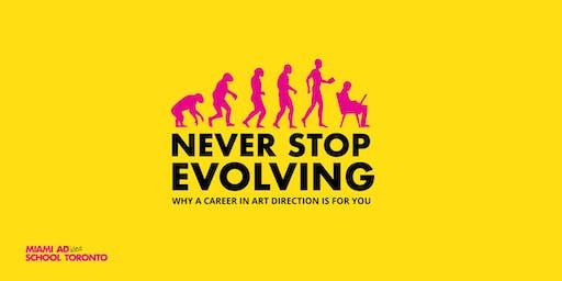 Never Stop Evolving