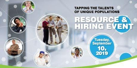 Tapping The Talents of Unique Populations Resource & Hiring Event