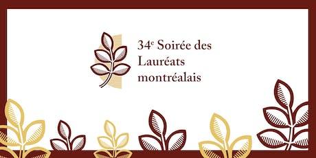 34e Soirée des Lauréats montréalais billets