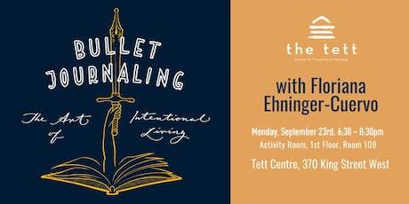Bullet Journaling Workshop tickets