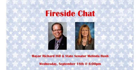 Fireside Chat: Mayor Richard Hill & State Senator Melinda Bush tickets