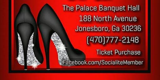 Socialite's Red & Black Gala. Saturday September 21, 2019 8pm -1am @ The Palace Banquet Hall 188 North Avenue Jonesboro, Ga 30236.