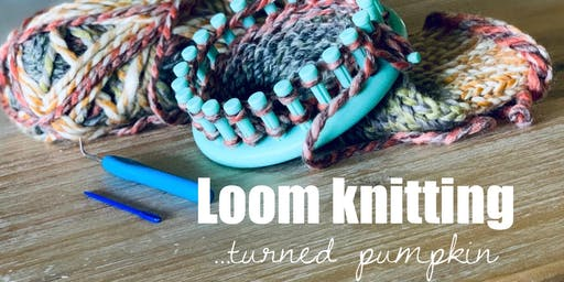 The Foundry - Loom Knitting Pumpkin