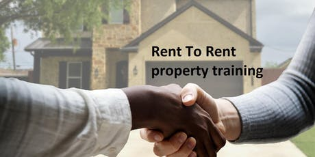 Rent To Rent property training tickets