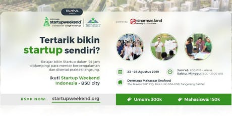 Techstars Startup Weekend Indonesia - BSD City  tickets