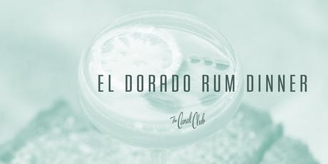 El Dorado Rum Dinner tickets