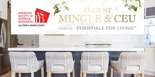 ASID OC August Mingle at Essentials For Living