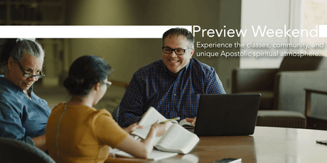 Urshan Graduate School of Theology Preview Weekend 2019 tickets