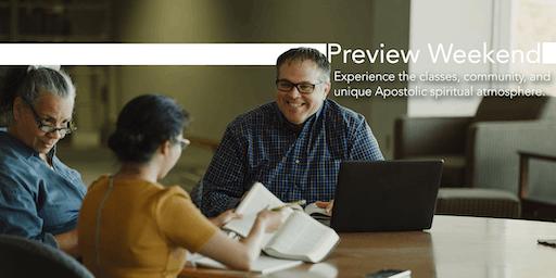 Urshan Graduate School of Theology Preview Weekend 2019