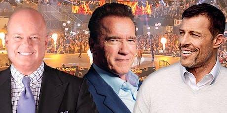 Elite Seminar 2020 mit Tony Robbins, Arnold Schwarzenegger und Eric Worre Tickets