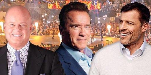 Elite Seminar 2020 mit Tony Robbins, Arnold Schwarzenegger und Eric Worre
