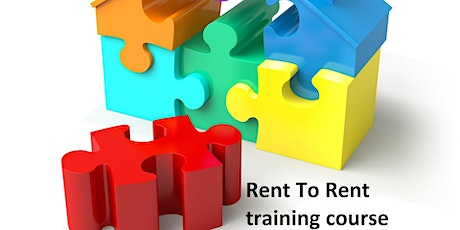 Rent To Rent Training Course tickets