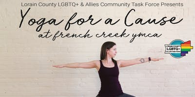 Yoga with the Lorain County LGBTQ+ & Allies Community Task Force