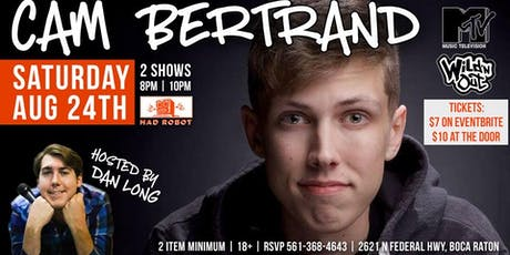 MRBC Comedy Night Presents: Cam Bertrand! tickets