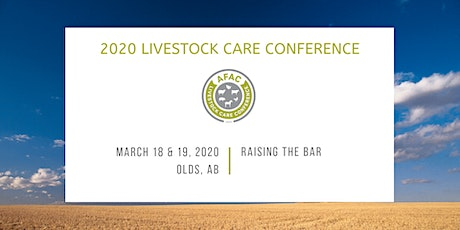 2020 Livestock Care Conference tickets