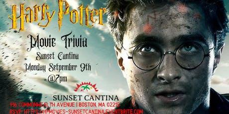 Harry Potter Movies Trivia at Sunset Cantina tickets